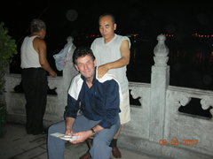 Rock Climbing Photo: Beijing al fresco massage