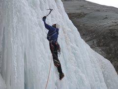 Rock Climbing Photo: Cascata di Rovenaud, Valsavaranche, Aosta, Italy