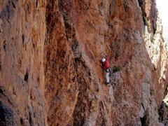 Rock Climbing Photo: No Country For Old Men, Octet Cliff, Anti Atlas, M...