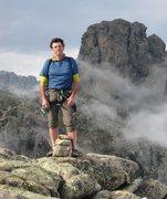 Rock Climbing Photo: Corsica summit