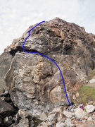 Rock Climbing Photo: Great route!!