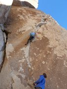 Rock Climbing Photo: Matt Segal leads Acid Crack (5.12d)  Photo credit ...