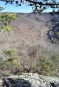Rock Climbing Photo: Big country