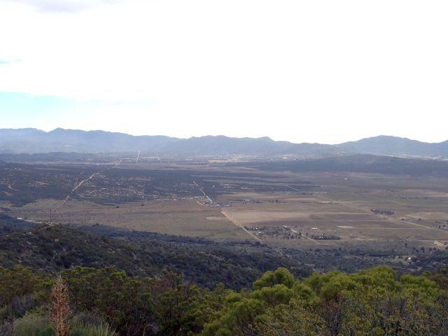 Terwilliger Valley from Thomas Mountain, San Jacinto Mountains