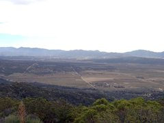Rock Climbing Photo: Terwilliger Valley from Thomas Mountain, San Jacin...
