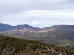 Rock Climbing Photo: Garner Valley from Thomas Mountain, San Jacinto Mo...