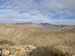 Rock Climbing Photo: Scenery from the top of the Turkey Grade, Anza Bor...