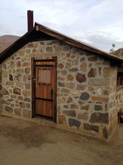 Bailey's Cabin in Upper Coyote Canyon, Anza Borrego State Park
