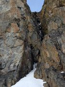 Rock Climbing Photo: Ice in there