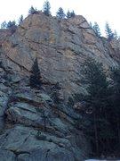 Rock Climbing Photo: The crag.