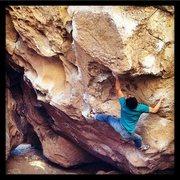 Rock Climbing Photo: Standing Kill Order, Bishop, CA.
