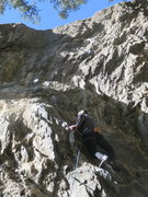 Rock Climbing Photo: One of the several ways of getting through the cru...