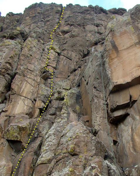 Ascending Order (rope on Polar Sandals).
