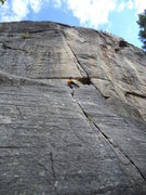 Rock Climbing Photo: 6 year old ben makes it look easy