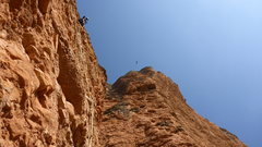 Rock Climbing Photo: irene y la paz