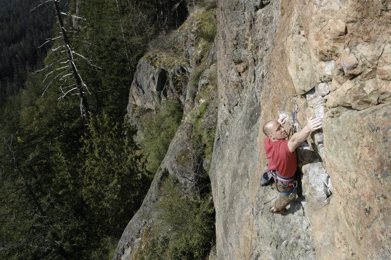 Rock Climbing Photo: Left side of Orange Wall