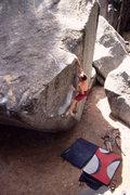 Rock Climbing Photo: Joe Barker on 'The Angler'