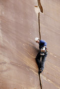 Rock Climbing Photo: Will Lockmiller on 'Blue Sun'