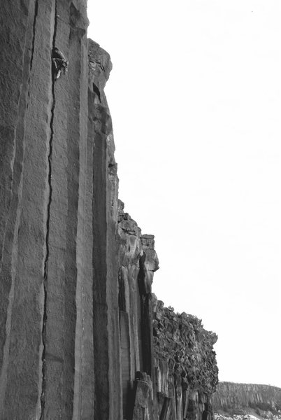 Rock Climbing Photo: Mr. Squiggles