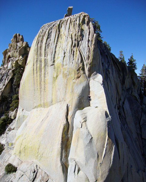 Rock Climbing Photo: Spooky