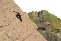 Rock Climbing Photo: Last pitch of 'Endgame'