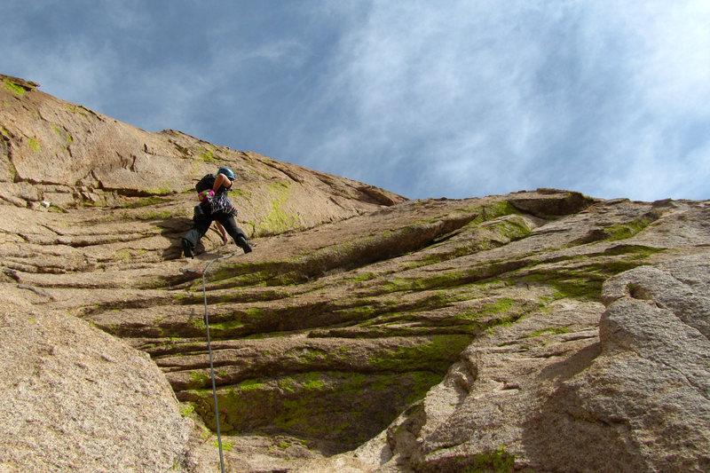 Rock Climbing Photo: 'The Peacemaker'