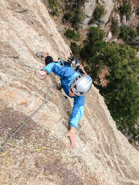Sophia following, last move of Pitch 1