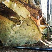 Rock Climbing Photo: Tunnel Vision
