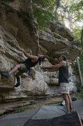 Rock Climbing Photo: Noffsinger on The Cube