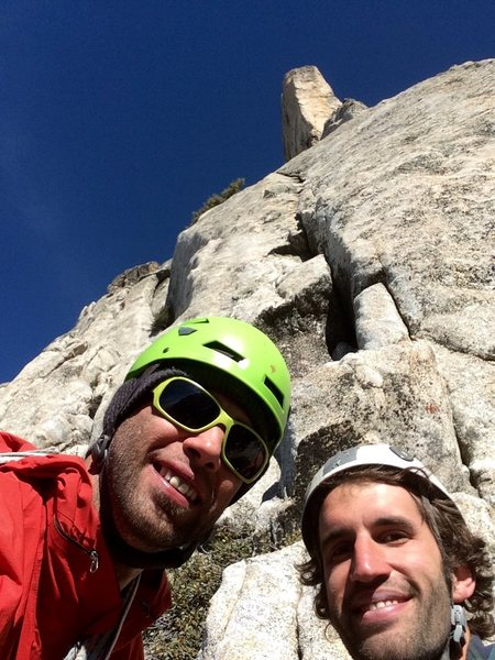Selfie time at the start of pitch 3!!!