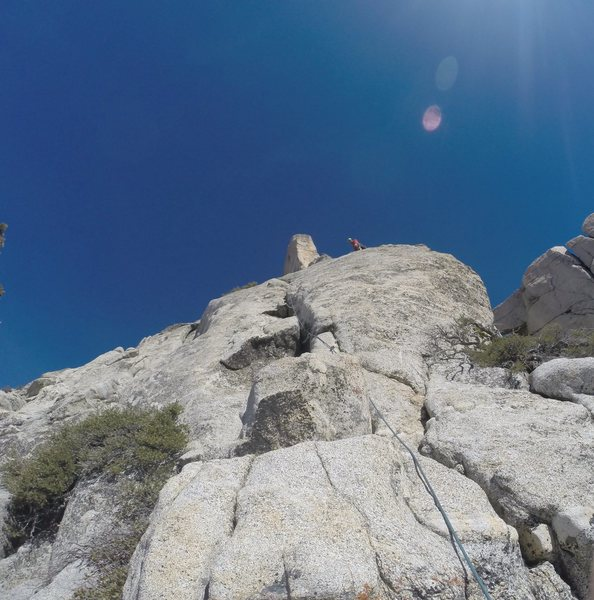 Rock Climbing Photo: Spectacular splitter P3 don't be tempted to charge...
