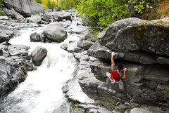 Rock Climbing Photo: The Sleeping Lady, Leavenworth