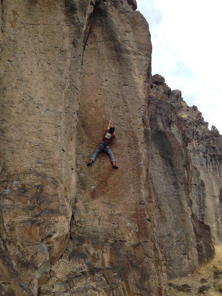 Rock Climbing Photo: Jesse on Adam Ant at White Rock