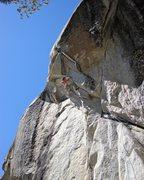 Rock Climbing Photo: Grenade Launcher, Tuolumne Meadows