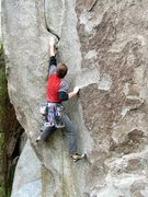 Rock Climbing Photo: 'Crack of Doom', City of Rocks, Idaho
