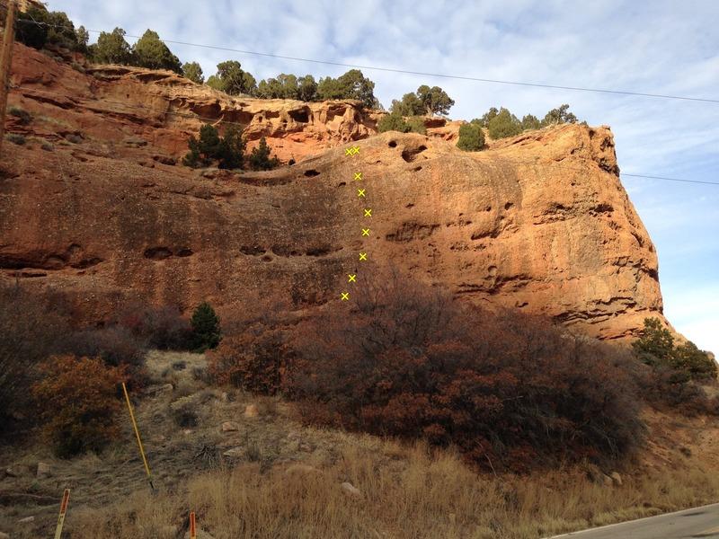 Rock Climbing Photo: Railroadside Crag