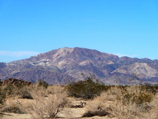Colorful Monument Mountain, Joshua Tree NP