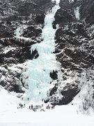 Rock Climbing Photo: Bridal Veil Falls