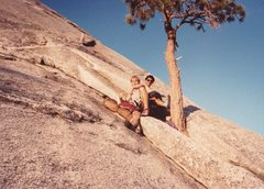 Rock Climbing Photo: The Tree: starting point for Snake Dike