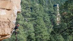 Rock Climbing Photo: Awesome climb in a beautiful setting!