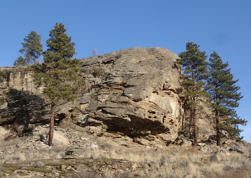 Rock Climbing Photo: The Turret from the West.