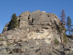 Rock Climbing Photo: The Turret from the south