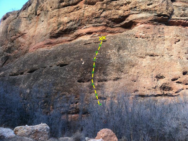 Cimmaron route line.