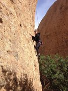 Rock Climbing Photo: Natalie Strasser on TR
