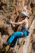 Rock Climbing Photo: Some big, fun moves on this little number. Februar...