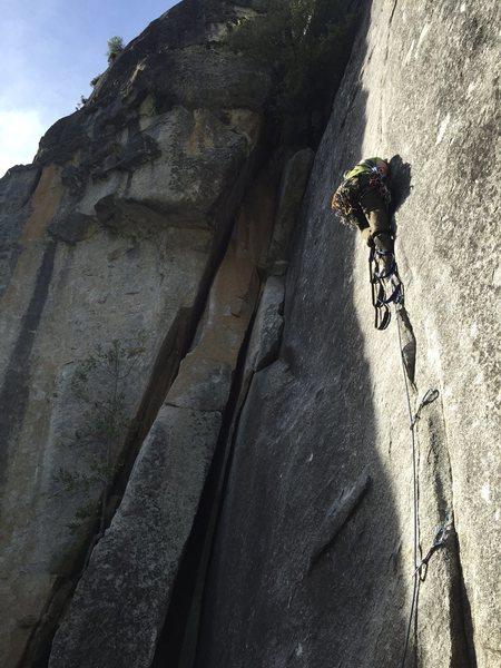 Rock Climbing Photo: Aiding Cat's Squirrel.