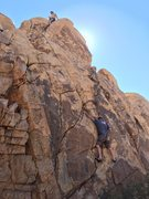 Rock Climbing Photo: A route in Dissolution Corridor just right of the ...