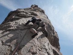 Rock Climbing Photo: Off the Notch