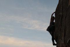 Rock Climbing Photo: Alana on Till Death Do Us Part