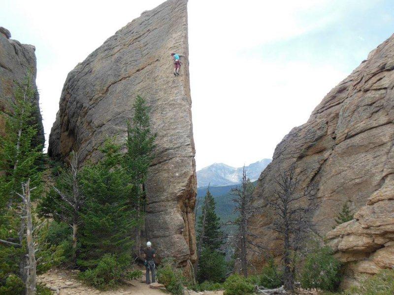 Rock Climbing Photo: Jurassic Park-Edge of Time